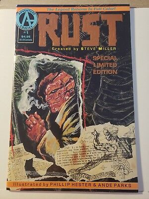 Rust #1 comic Limited Edition 1st appearance Spawn VF+/NM-