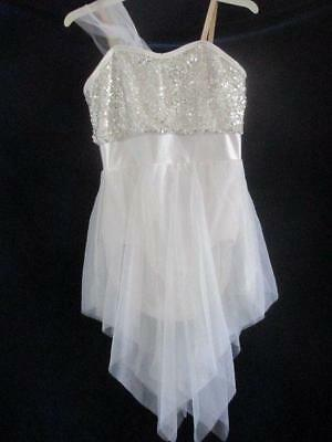 Silver Sequin Lyrical Curtain Call CLG Ballet Costume