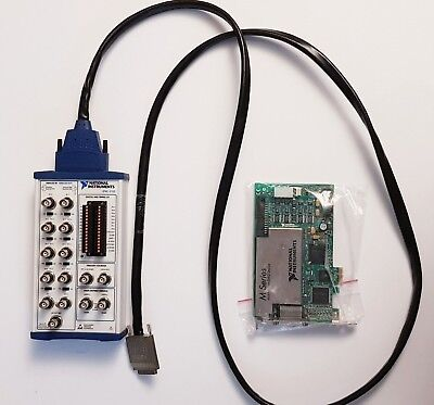 National Instruments PCIe-6259 NI DAQ Card with BNC-2110 Shielded Connector