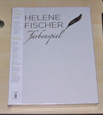 Helene Fischer Fabenspiel the Illustrated Book Limited Box CD + Blu-Ray+DVD New