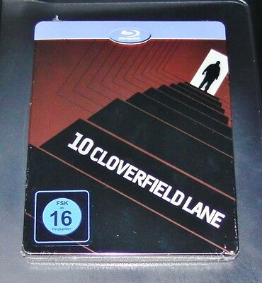 10 Cloverfield Lane Limited Embossed Steelbook Edition Blu Ray New Ovp