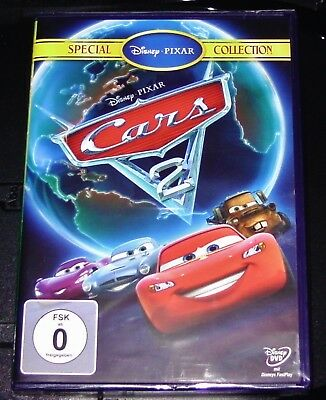 Cars 2 Special Collection Walt Disney Pixar Film DVD Faster Shipping New Ovp