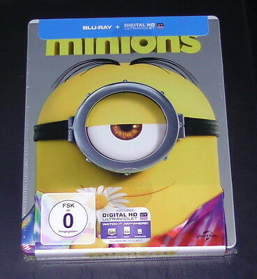 Minions Exclusive Limited Steelbook Blu-Ray Faster Shipping New Original Package