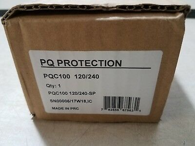 PQ Protection PQC100 120/240 Compact Surge Protector New