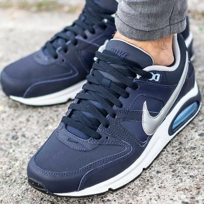 crazy price good quality detailed look NIKE AIR MAX Command Leather Obsidian/Metallic Silver UK 7, 7.5, 8 ...