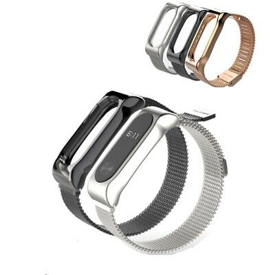 Smart Watch Replacement Stainless Steel Metal Strap Bracelet For Xiaomi Mi Band2