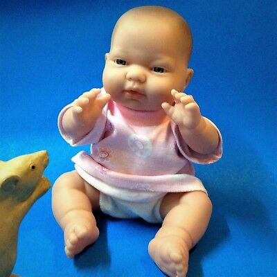 Berenguer - Baby Doll - 30cm, PVC Body , Blue Eyes - Great Pre-loved Con