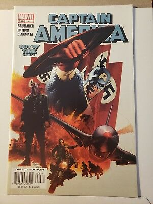 Captain America #6 NM- 1st Winter Soldier