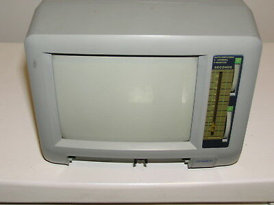 Black & White Auto-Switching CRT Security Monitor. Pick Up VIC 3197