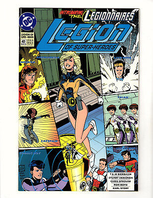 Legion of Super-Heroes #41 (1993, DC) VF Introducing the Legionnaires