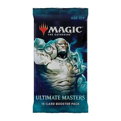 Magic The Gathering Ultimate Masters Booster Pack NEW (1 Booster Pack)