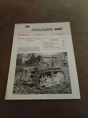 Roadless News 1956 tractor Ford Fordson County Doe Muir Hill V.RARE