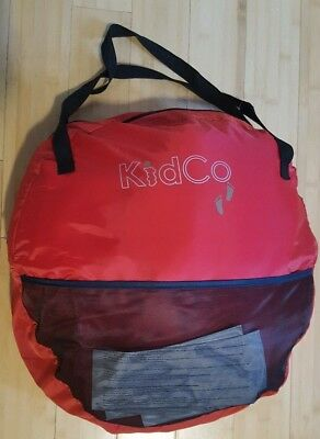 KidCo Peapod Plus Red/Navy Bed Portable Travel Tent/Bed for Baby/Toddler