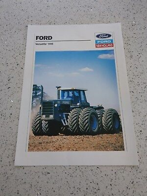 Ford New Holland Versatile 946 tractor brochure