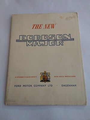 Fordson Major tractor Royal Crest 1951 King George VI Ford New Holland RARE