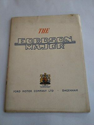 Fordson Major tractor Royal Crest 1953 late King George VI Ford New Holland RARE