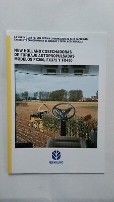New Holland FX 300 375 450 forage harvester 1995 Ford New Holland Spain