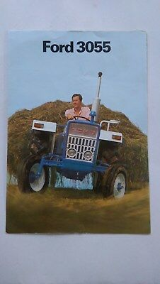 Ford 3055 tractor brochure 1972 New Holland France French