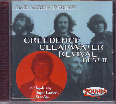 ZOUNDS - CREEDENCE CLEARWATER REVIVAL - Bad Moon Rising - Best II - CD 1998