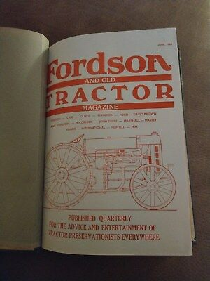 Fordson Tractor magazine 8 issues Ford New Holland VERY RARE
