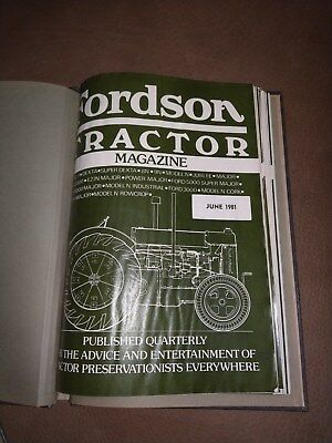 Fordson Tractor magazine 12 issues Ford New Holland VERY RARE