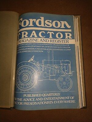 Fordson Tractor magazine 13 issues Ford New Holland VERY RARE