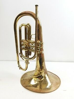 King Marching Mellophone and case (799775) instrument