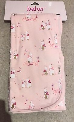 Ted Baker Pink Bunny Blanket NEW