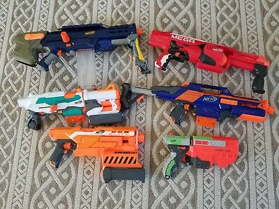 Nerf gun lot used