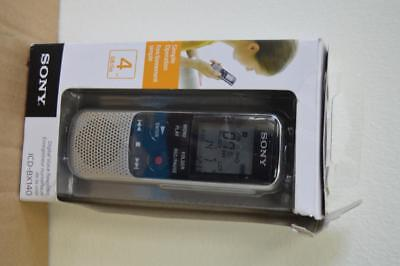 Sony Digital Voice Recorder ICD-BX140 4GB/Go in box--