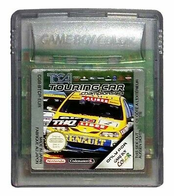 TOCA TOURING CAR CHAMPIONSHIP (Game Boy Game) Nintendo GameBoy C