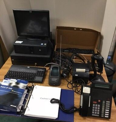 HP Complete POS, Touch Screen , Label Printer, From Working Environment, 2007