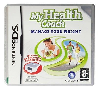 MY HEALTH COACH: MANAGE YOUR WEIGHT (Nintendo DS) Weight Loss Diet C