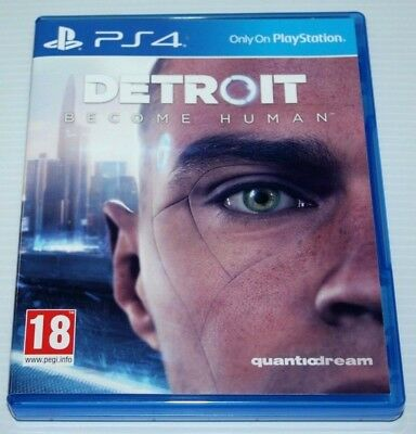 Detroit Become Human - Ps4 Game - 2018 Adventure Game