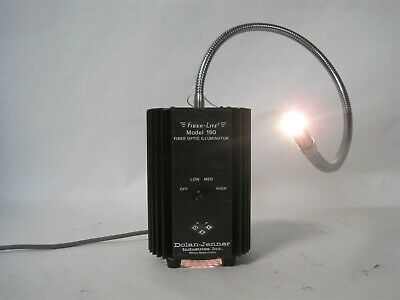 Dolan-Jenner 190 Fiber-Lite Fiber Optic Light Source Illuminator Gooseneck Scope