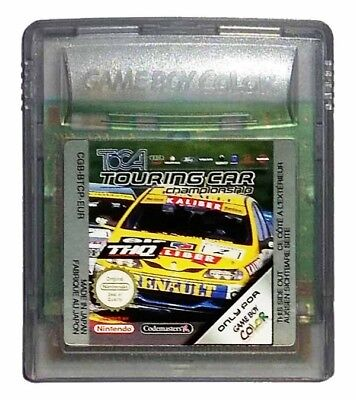 TOCA TOURING CAR CHAMPIONSHIP (Game Boy Game) Nintendo GameBoy A