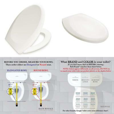 Astounding Bath Royale Premium Elongated Toilet Seat With Cover Squirreltailoven Fun Painted Chair Ideas Images Squirreltailovenorg