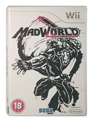 MADWORLD (Wii Game) Nintendo A