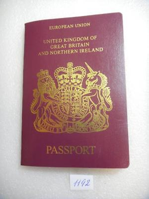 UK  expired pre-bio  Passport   Reisepass  2006