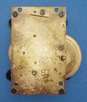 Antique Seth Thomas #2 Weight Driven Clock Movement Assembly A 414-000 For Parts