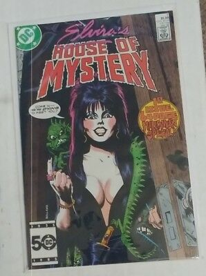 Elvira's House Of Mystery # 1 Brian Bolland cover DC comics Jan 1986