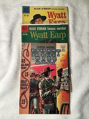 Three Wyatt Earp Comics #6,8,20