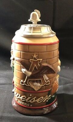 2004 Special Event Bevo Fox Budweiser Beer Stein In Box CS585 (E36BD)