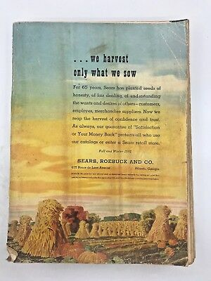 SEARS,  ROEBUCK AND CO. FALL AND WINTER 1951 We Harvest Only What We Sow