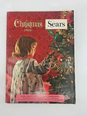 SEARS, ROEBUCK AND CO.  CATALOG Christmas 1966