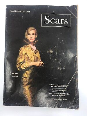SEARS, ROEBUCK AND CO. CATALOG Fall And Winter 1963