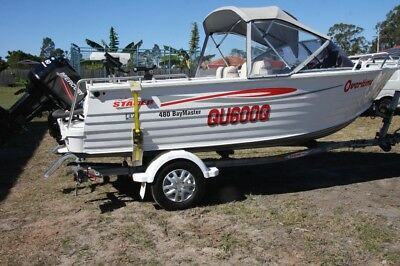 Stacer 480 Boat and trailer