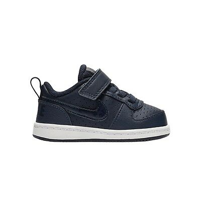 buy popular 87a67 dfedb NIKE COURT BOROUGH FAIBLE TDV BLEU Baskets Enfant Chaussures bébé 870029 403
