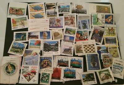 New Zealand Stamps On Paper (Lot 46) FREE POSTAGE