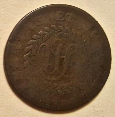 1785 Nova Constellatio Colonial Cent Pointed Rays